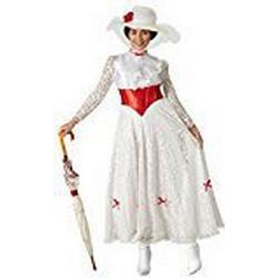 Rubie 's Offizielles Mary Poppins Jolly Holiday Damen Fancy Kleid Disney Musical Damen Kostüm