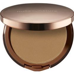 Nude by Nature Flawless Pressed Powder Foundation, Pudergrundierung, 10 g, W7 Spiced Sand