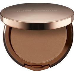 Nude by Nature Flawless Pressed Powder Foundation, Pudergrundierung, 10 g, N7 Warm Nude