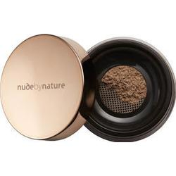 Nude by Nature Radiant Loose Powder Foundation, Pudergrundierung, 10 g, N9 Sandy Brown