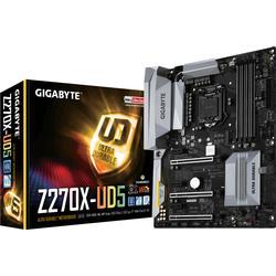 Gigabyte GA-Z270X-UD5 ATX Mainboard 1151 (Kabylake) 2xLAN/USB3.1/M.2/HDMI/DP