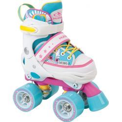 Hudora Skate Wonders Roller Skates verstellbare Rollschuhe hellblau Kinder