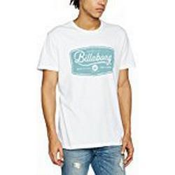 Billabong Herren Pits Top Tee SS T/Shirt, White, S