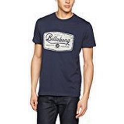 Billabong Herren Pit Stop Short Sleeve T/Shirt, Navy, M