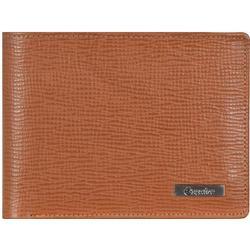 Esquire Boston Geldbörse I Leder 12 cm, cognac