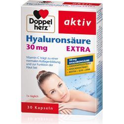 DOPPELHERZ Hyaluronsäure Extra 30 mg Kapseln 30 St