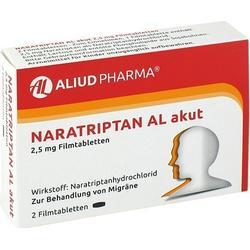 NARATRIPTAN AL akut 2,5 mg Filmtabletten 2 St