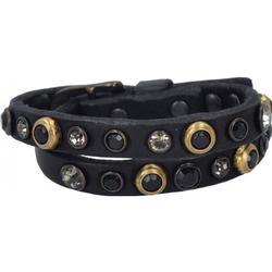 Campomaggi Bracciali Armband Leder 42 cm black