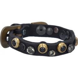 Campomaggi Bracciali Armband Leder 25 cm black