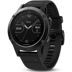 Garmin fenix 5 Saphir GPS Smartwatch - schwarz - 010-01688-11
