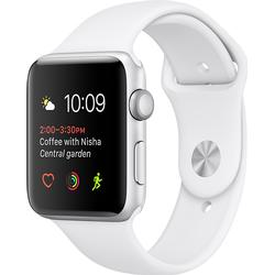 Apple Watch Series 2 Smart Watch Aluminium Sportband, 42 mm, Grau/Schwarz