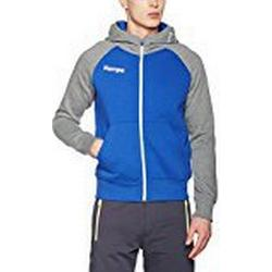 Kempa Herren Fly High Hood Jacket Jacke, Royal/Grau Melange, XXXL