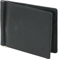 Esquire Logo Kreditkartenetui Leder 11 cm schwarz