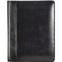 Esquire Eco Notizblock Leder 18 cm schwarz