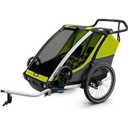Anh�nger und wagen Thule Chariot Cab 2 + Bike Kit