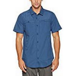 Craghoppers Herren Kiwi Trek Short Sleeve Shirt L Vintage Indigo