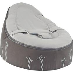 2 in 1 Cocoon Seat Giraffe Grey One Size