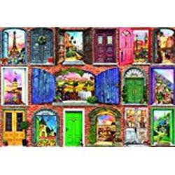 """Educa 17118.0 / """"1500 Doors of Europe"""" Puzzle"""