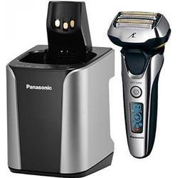 Panasonic ES-LV9N Nass-/Trockenrasierer mit Reinigungsstation silber/schwarz