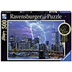 Ravensburger / Blitze über New York, 500 Teile Puzzle
