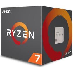 AMD YD1700BBAEBOX Ryzen 7 1700 Prozessor mit Wraith/Spire/LED/Kühler