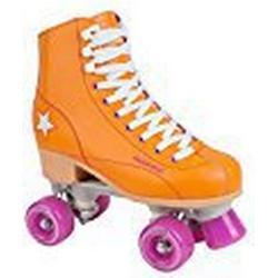 HUDORA Rollschuhe Damen Mädchen Disco/Roller, Roller/Skates, orange/lila, Gr. 39, 13204