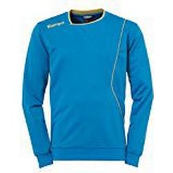 Kempa Herren Curve Training Top Shirt, Kempablau/Gold, 140