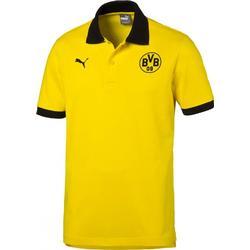 Puma Borussia Dortmund BVB Badge Poloshirt Kinder gelb