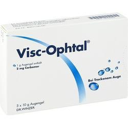 VISC OPHTAL Augengel 3X10 g