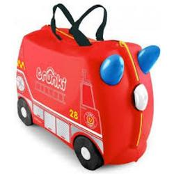 Knorrtoys Kinderkoffer Trunki Frank Fire (Rot) [Kinderspielzeug]