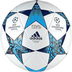 adidas Fußball Champions League 2017 Finale Cardiff Capitano - Weiß/Blau/Türkis