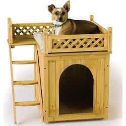 Hundehütte mit Balkon