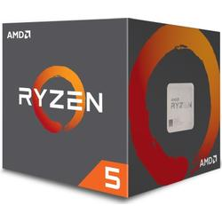 AMD Ryzen R5 1600 (6x 3,4/3,6 GHz) 19MB Sockel AM4 CPU BOX