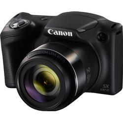 Canon PowerShot SX432 IS schwarz inkl. Tasche DCC 950 + 8GB SD-Karte + 10€ FGS Super Zoom Kamera