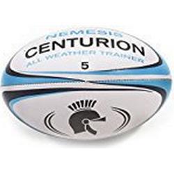 Nemesis Allwetter Centurion Rugbyball, Blau, Größe 5
