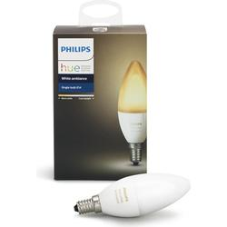 Philips Hue - Single Bulb E14 White Ambiance