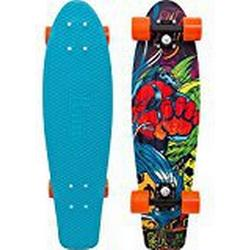 Penny Weird Neo Tokyo 27 Skateboard, Hellblau, 68,6 cm