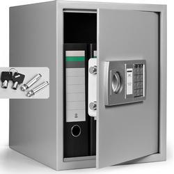 Elektr. Möbeltresor 35x40x40cm - 4mm Tür inkl. Batterien