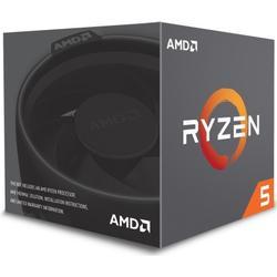 AMD Ryzen 5 1500X (8MB Cache, 3,50 GHz Turbo 3,70 GHz) mit Kühler - Sockel AM4