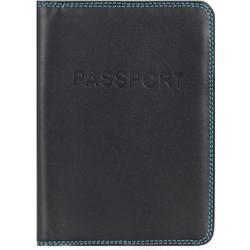 mywalit Passport Cover Passetui Leder 14 cm black/pace