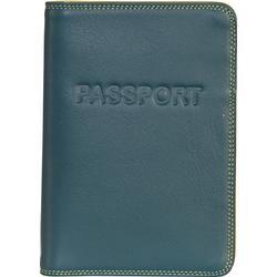 mywalit Passport Cover Passetui Leder 14 cm evergreen