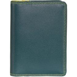 mywalit Plastic Inserts Kreditkartenetui Leder 8 cm evergreen