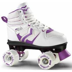 Fila Damen Roller/Skates Verve Lady Rollschuhe, White/Violet, 39