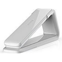 AEG Lloyd 15 White Schnurloses Design DECT/Telefon mit Freisprecheinrichtung in Mobilteil und Anrufbeantworter in Basis weiß