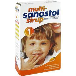 MULTI SANOSTOL Sirup ohne Zuckerzusatz 260 g