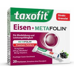 TAXOFIT Eisen+Metafolin Granulat 20 St