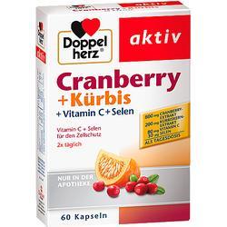 DOPPELHERZ Cranberry+Kürbis Kapseln 60 St