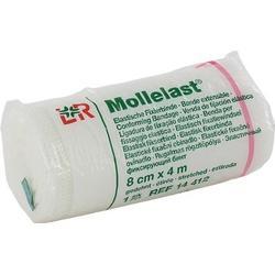 MOLLELAST Binden 8 cmx4 m weiß 1 St