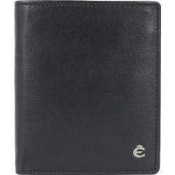 Esquire Harry Kreditkartenetui Leder 8 cm schwarz