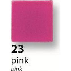 Folia Mosaiksteine, 10 x 10 mm, Kunstharz, Frost, pink (190 Stück)